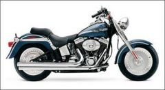 SuperTrapp  Mean Mothers II Long  H-D FXST/FLST 84-11 - Chrome
