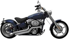 SuperTrapp 138-72578 Mean Mothers II Side Swipes -H-D FXCW/C 08-11 - Chrome