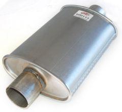 "Silencer 2.5"" 300 mm oval"
