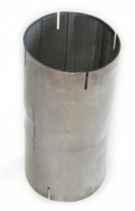 "Double-ended sleeve 4"" inox"