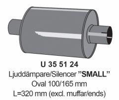 "Silencer 2"" Small"