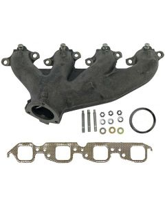 Chevy BB cast manifold right angled outlet
