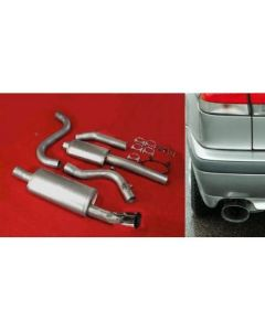 """JT 900 Turbo 94-97 3"""" cat-back 2 silencer"""