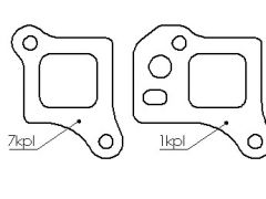 Chrysler 300 Hemi manifold flange full set