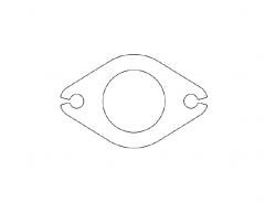 VW Golf 2 16V KR manifold flange set