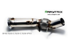 F10 520/528 Armytrix ceramic decat downpipe