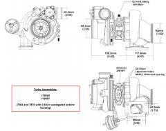 BorgWarner EFR 7670B AR 0.83 T3 turbo 650 hp