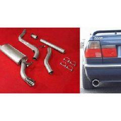 "JT Saab 9000 92-98 CS Turbo 3"" cat-back 1 silencer"