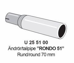 Outlet tip Rondo 51