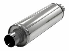 "Silencer 2.5"" Slim inox"
