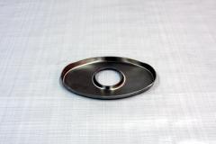 Muffler Endplate 100x165mm 45mm Center