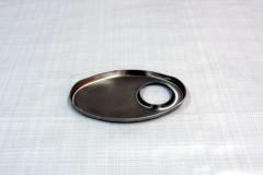 Muffler Endplate 100x165mm 45mm Offset