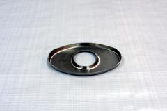 Muffler Endplate 100x165mm 51mm Center