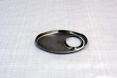 Muffler Endplate 100x165mm 51mm Offset