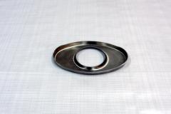 Muffler Endplate 100x165mm 63mm Center