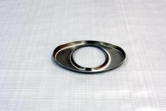 Muffler Endplate 100x165mm 76mm Center