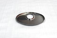 Muffler Endplate 115x185 45mm Offset/Center