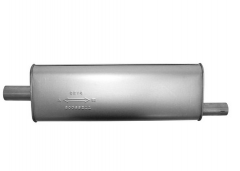 "Muffler 2"" In / 1,75"" Out L=23"" Body 3,25"" x 7,75"" C/O"