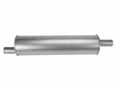 "Muffler 2"" ID In/Out L=25"" Body Round 6"" O/O"
