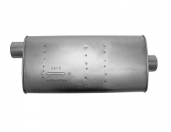 "Muffler 3"" ID In/Out L=22"" Body 4""x10,5"" O/C"