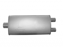 "Muffler 3"" ID In / 2x2,25"" ID Out L=22"" Body 4""x10,5"" C/OO"