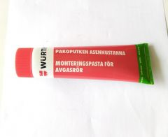 Exhaust sealing putty