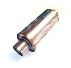 """Martelius Muffler 2,5"""" L=250mm INOX"""