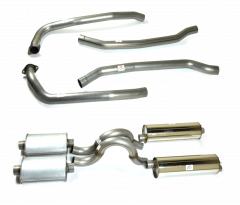 Dodge Challenger / Plymouth Cuda 70-73' Dual Exhaust