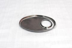 Muffler Endplate 115x185 51mm Offset