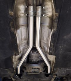 Audi A5 / S5 B8 3.0 TFSI Performance Front Muffler Delete Pipes