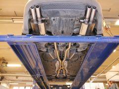 "Audi RS4 B7 Catback Valve Exhaust 2,5"""