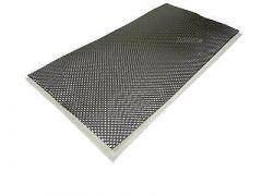 HJS Ruostumaton muovattava lämpöeriste 1000x1000mm