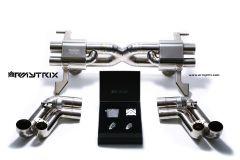 R8 V10 09-12 Armytrix Valvetronic Titanium