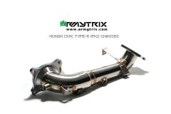Civic Type R FK2 Armytrix ceramic downpipe