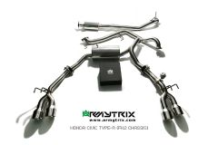 Civic Type R FK2 Armytrix Valvetronic Chrome
