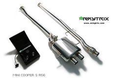 Cooper S R56-59 Armytrix Valvetronic Chrome