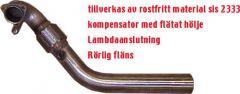 "JT Volvo 850T, V70 3"" loose flange downpipe"