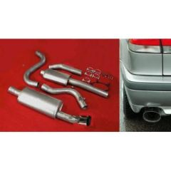"JT 900 / 9-3 Turbo 94-02 3"" cat-back 2 silencer"