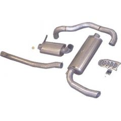 "JT Volvo 240 76-88 3"" NON-turbo catback for OEM frontpipe"