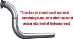 """JT Volvo 740 Turbo 3"""" downpipe"""