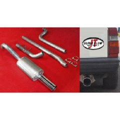 "JT Volvo 740 3"" turboback 1 silencer decat"