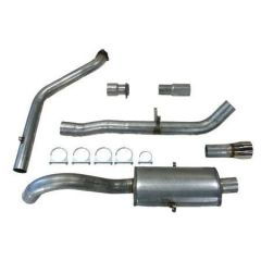 "JT Volvo 940 3"" turboback 1 silencer for OEM cat"