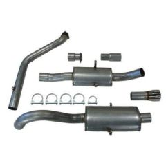 "JT Volvo 940 3"" turboback 2 silencer for OEM cat"