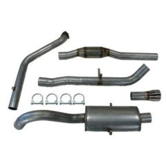 "JT Volvo 940 3"" turboback 1 silencer 200CPSI cat"