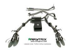 Civic Type R FK2 Armytrix Valvetronic Chrome