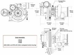 BorgWarner EFR 6258 turbo 450 hp