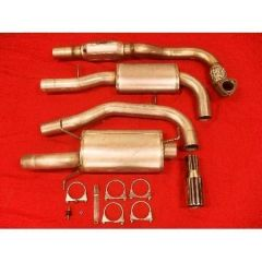 """JT Volvo S/V40 01-03 FAS2 Turboback Exhaust 3"""""""