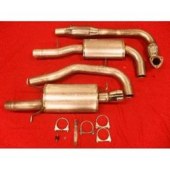 JT Volvo S/V40 96-00 FAS1 Turboback Exhaust