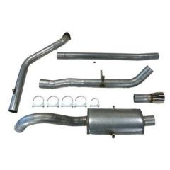 Volvo 940 turboback 1 silencer decat
