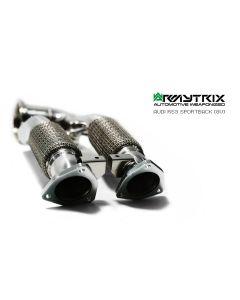 RS3 8V Armytrix ceramic downpipe 200cpsi